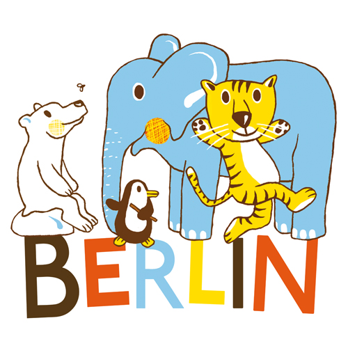 Kinderbuchillustration, Berlin